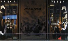 Window dressing Jack&Jones.C.C, Xanadu By: Chefaoui & Donlebum Graffiti by: Beta & Make