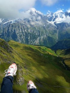 Paragliding in Interlaken. My dream...someday!