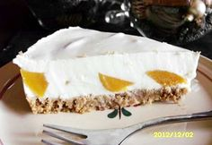Joghurttorta sárgabarackkal sütés nélkül Naan, Cheesecake, Pudding, Recipes, Food, Cheesecakes, Custard Pudding, Recipies, Essen