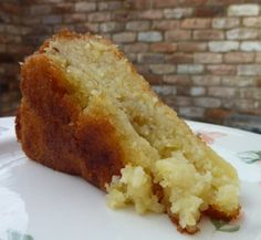 lemon drizzle cake (with mashed potatoes)