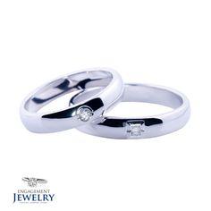 Set verighete cu Diamant PAL-VEG-004  Set verighete cu Diamant(4.90g 5.50g) Wedding Rings, Engagement Rings, Jewelry, Jewellery Making, Wedding Ring, Enagement Rings, Jewelery, Engagement Ring, Jewlery