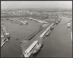 Port of 1964 - a snapshot from JUST before the towers started to arrive Melbourne Victoria, St Kilda, My Town, Historical Photos, Towers, Roads, Old Photos, Wwii, New Zealand