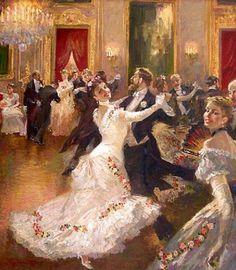 Vladimir Pervuninsky    Everytime I see this it reminds me of the infamous ballroom scene in Anna Karenina