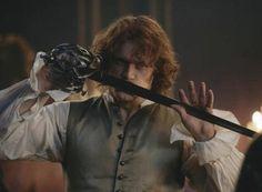 """Jamie Fraser Outlander 2.05 """"Untimely Resurrections"""""""