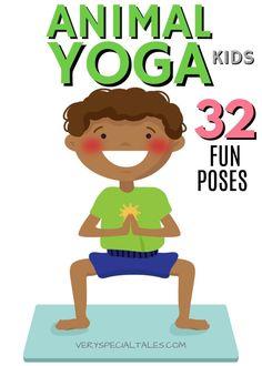 Kids Yoga Poses, Yoga For Kids, Exercise For Kids, Preschool Teacher Tips, Preschool Activities, Yoga For Preschoolers, Social Stories Autism, Animal Yoga, Kids Class