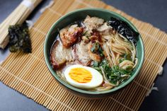Like any good ramen, this is a time consuming dish in order to develop flavor. It results in a really amazing noodle soup bowl with beautiful robustness.