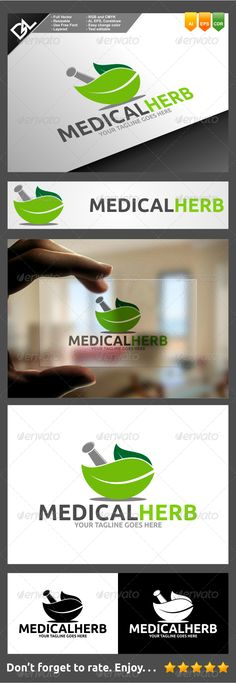Medical Herb - Nature Logo Templates