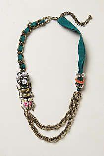 Anthropologie - Garden Vignette Necklace