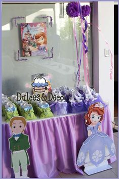 Princess Sofia Birthday Party Ideas | Photo 17 of 26 | Catch My Party