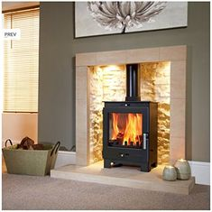 The Flavel Arundel Stove has been developed with aesthetics, efficiency and flexibility in mind. This steel bodied stoves robust looks and large viewing window makes it suitable for most room settings. The Flavel Arundel has a heat output of 4.9kW and an efficiency of 78.4% allowing it to be both cost effective and heat efficient. The Arundel is suitable for use in Smoke Control Areas, as recommended by DEFRA.