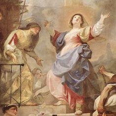Magnificat Cantico de la Virgen Mari Maulbertsch benedicto XVI castel gandolfo enciclicas oraciones exhortaciones apostolicas krouillong comunion en la mano es sacrilegio