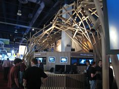 cardboard trade show structure - Google Search
