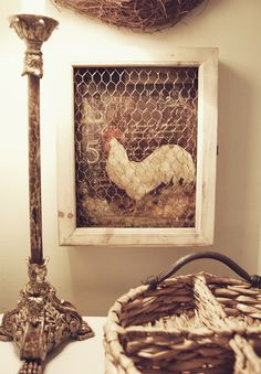 shadow box ~ okay I would have never thought to do one like this, but I love it. <3