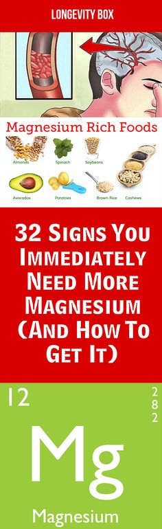 32 signs you immediately need more magnesium