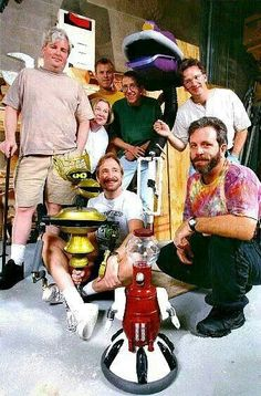 The cast of Mystery Science Theater 300 MST3K
