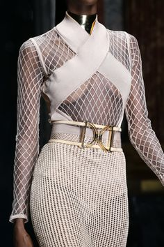 Balmain Spring 2016 Ready-to-Wear Collection Photos - Vogue#32#33