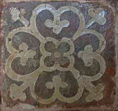 Monmouth Group of Parishes - The Medieval Tiles. St. Mary's Priory Church?