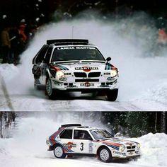 Sweden 1986 Toivonen & Alen.  #wrc #wrcofficial #rally #rallye #lancia #lanciarally #martiniracing #deltas4 #groupbrally #sport #followme #car #motorsport #sport #instadaly