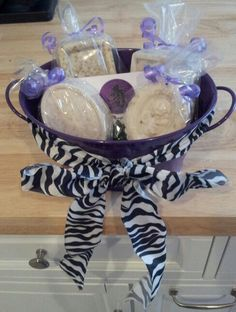 A personal favorite from my Etsy shop https://www.etsy.com/listing/189054905/natural-soaps-gift-basket