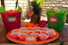 snacks lual party