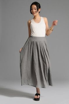 New style lose my way-Grey skirt(more colour and size choice) -A1049 on Etsy, ฿1,933.33