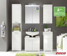 Mit unserem Badezimmerprogramm wird man jeden Morgen glänzend begrüßt. Hochglanz