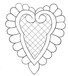Heart 1 PATTERN Small GRID