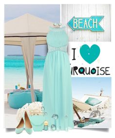 """""""I love turquoise"""" by anna-survillo ❤ liked on Polyvore"""