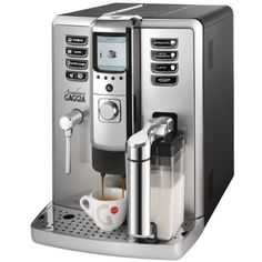 What is a super automatic espresso machine, explained. Learn everything there is to learn about super automatic espresso machine. Also included is list of top super automatic espresso machines. Gaggia Espresso Machine, Home Espresso Machine, Espresso Machine Reviews, Automatic Espresso Machine, Espresso Maker, Espresso Coffee, Espresso Cups, Coffee Box, Coffee Cups