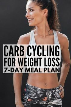 Carb Cycling for Weight Loss Carb cycling can be an effective and easy tool for losing weight for women and for men alike, and we're sharing our favorite carb cycling meal plan, which is chock full of ideas and low carb recipes to help you get a l Diet Plans To Lose Weight, Losing Weight Tips, How To Lose Weight Fast, Lose Fat, Weight Loss Meal Plan, Loose Weight, Body Weight, 7 Day Meal Plan, Diet Meal Plans
