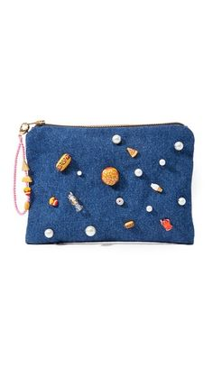 Venessa Arizaga Snack Attack Clutch Bag