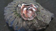 Ring silber, Besteckschmuck von Humlebis Hytte auf DaWanda.com