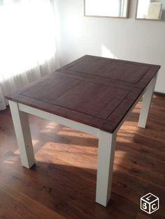 784b7402c7996f Table à manger 6-8 pers bois massif WESTWING HOME Ameublement  Hauts-de-Seine - leboncoin.fr