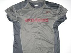 4aa4739b Darrel Young Game Worn & Signed Washington Redskins #36 Nike Dri-Fit XXL  Shirt