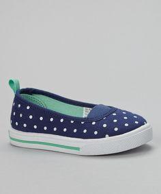 Look at this #zulilyfind! Navy Crissi Slip-On Shoe by Carter's #zulilyfinds