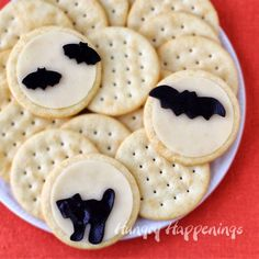 Hungry Happenings: Halloween Snacks - Full Moon Cheese and Crackers