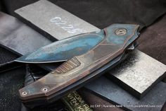 New customized Muscle knife.