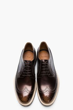 The Best Men's Shoes And Footwear :   PAUL SMITH //    Metallic Bronze Longwing Brogues    -Read More –   - #Men'sshoes  https://fashioninspire.net/mens/mens-shoes/the-best-mens-shoes-and-footwear-paul-smith-metallic-bronze-longwing-brogues/