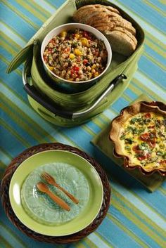 Portable and impressive foods for potlucks and picnics, from banh mi to quiche