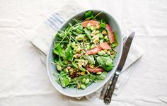 Avocado and Grapefruit Salad with Edamame - Bon Appétit