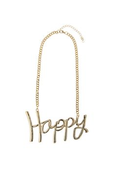 Statement Necklaces, Gold Necklace, Casual Chic, Happy, Jewelry, Casual Dressy, Gold Pendant Necklace, Jewlery, Jewerly