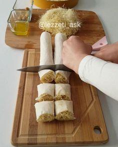 """12.9b Beğenme, 205 Yorum - Instagram'da lezzet-i_ask (@lezzeti_ask): """"Hayırlı geceler hem ramazan hem bayramlık çok güzel bir tatlı tarifim var baklava yufkası arası…"""""""