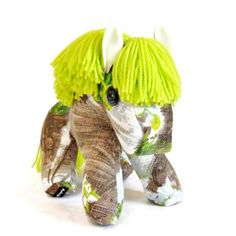 Retro Pony a horse crafted from 50s 60s Vintage by WittyDawnUK