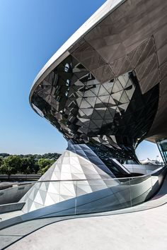 BMW Museum, Munich, Germany by Wolf Prix, Coop Himmelb(l)au Architects :: RIBA European Award