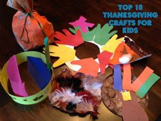Best Thanksgiving Crafts for Kids