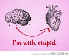 Brain > Heart, or Heart > Brain?