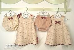 what to sew with babies old cloths | Confessions of a Sewing Addict: Little dresses and bloomers