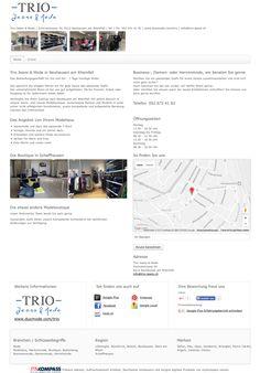 Trio Jeans & Mode, Neuhausen am Rheinfall, Modehaus, Markenmode, Boutique