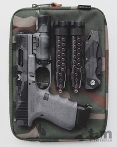 Tactical Photography by Gabriel Tam - BlackSheepWarrior. Custom Glock, Custom Guns, Weapons Guns, Guns And Ammo, Everyday Carry Gear, Tac Gear, Military Guns, Cool Guns, Tactical Gear