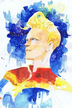 Captain Marvel by Christian Ward *